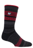 Mens HEAT HOLDERS LITE Stripe Socks