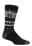 Mens HEAT HOLDERS LITE Fairisle Socks
