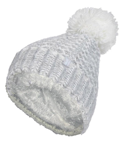 Ladies  Heat Holders Heat Weaver Lund Pom Pom Hat - 4 Colours