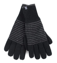 Load image into Gallery viewer, Mens Bergen Heat Weaver Heat Holders Gloves 2 Sizes - Black