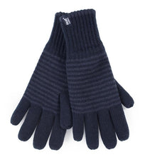 Load image into Gallery viewer, Mens Bergen  Heat Weaver Heat Holders Gloves 2 Sizes - Navy