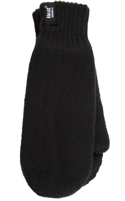 SPECIAL OFFER - Mens Black Original Heat Holders Mittens - 2 sizes