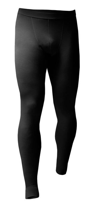 Mens Lightweight Thermal Bottoms - Black - 5 Sizes