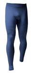 Mens Lightweight Thermal Bottoms - Indigo Marl - 5 Sizes