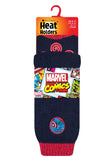 Mens HEAT HOLDERS Captain America Slipper Socks