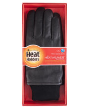 Load image into Gallery viewer, Mens Heat Holders Leather Gloves 2 Sizes