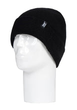 Load image into Gallery viewer, Heat Holders Licensed MARVEL LOGO  Hat Black
