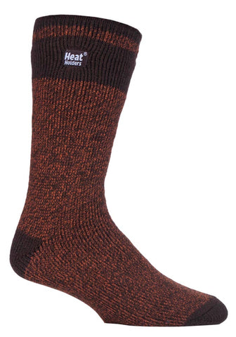 Mens Heat Holders Socks 6-11 UK 39-45 EUR Block Twist Nordic