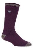 Mens Heat Holders Socks 6-11 UK 39-45 EUR Twist Heel and Toe Nordic