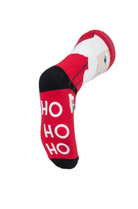 Mens Christmas Dual Layer Heat Holders Santa Edition Gripper Socks 6-11 UK 39-45 EUR