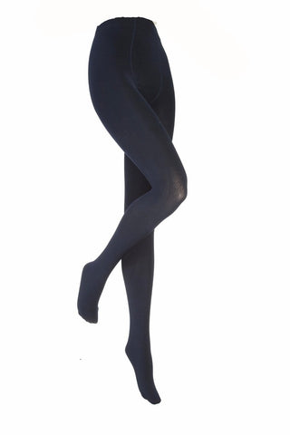 Kids Navy Heat Holders Thermal Tights 4 Sizes