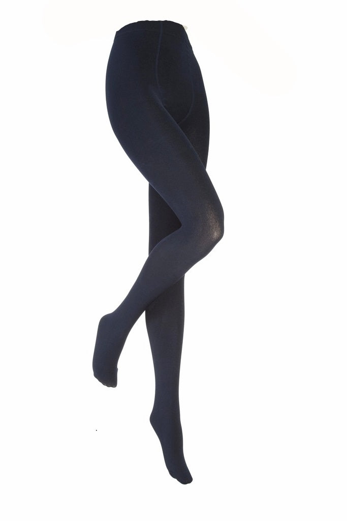 Ladies Heat Holders Thermal Tights, Navy,  4 Sizes