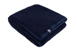 HEAT HOLDERS Super Plush Throw / Blanket ... Navy