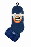 Ladies Lounge Socks 4-8 UK 37-42 EUR Plain Headington