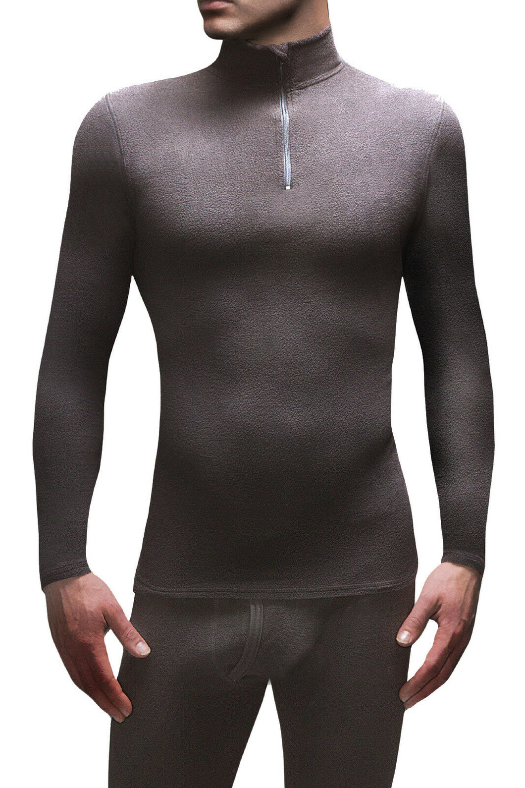 Mens Heat Holders Microfleece Baselayer Long Sleeved Top - 5 Sizes