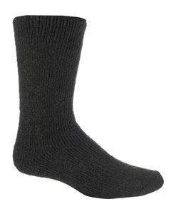 Mens Wool Short Leg Heat Holders Socks 6-11 UK 39-45 EUR BLACK