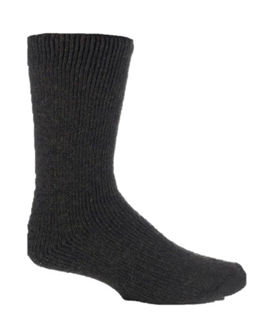 Mens Heat Holders Kurze Wollsocken - Forest Green