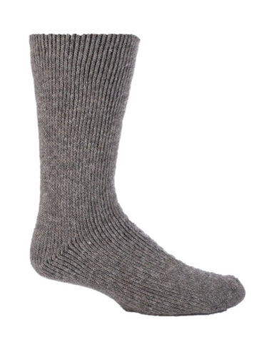 Mens Wool Short Leg Heat Holders Socks 6-11 UK 39-45 EUR STONE