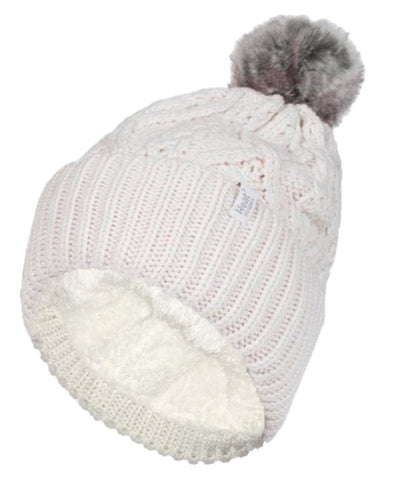 Ladies HEAT HOLDERS Solna Pom Pom Hat
