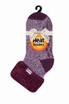 Ladies HEAT HOLDERS Lounge Twist Socks