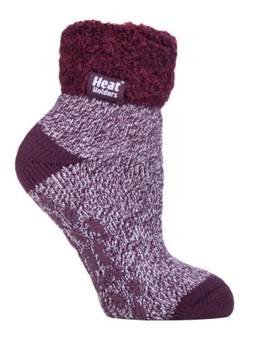 Ladies Lounge Socks 4-8 UK 37-42 EUR Twist The Ritz