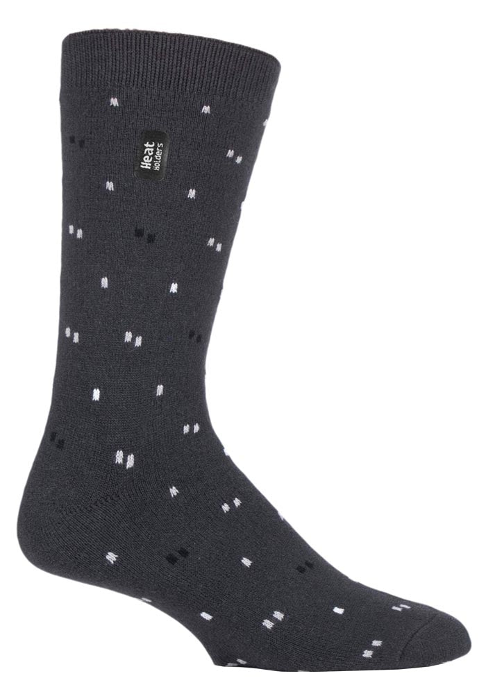Mens ULTRA LITE Heat Holders Socks 6-11 UK 39-45 EUR   SWALLOW CHARCOAL MICRO
