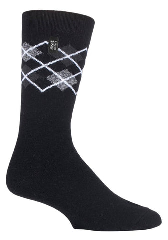 Calcetines de hombre HEAT HOLDERS ULTRA LITE Argyle