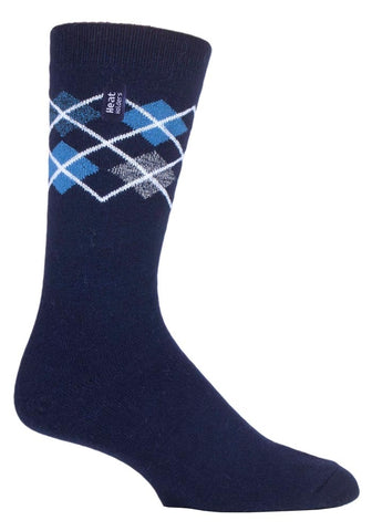 Mens HEAT HOLDERS ULTRA LITE Argyle socks