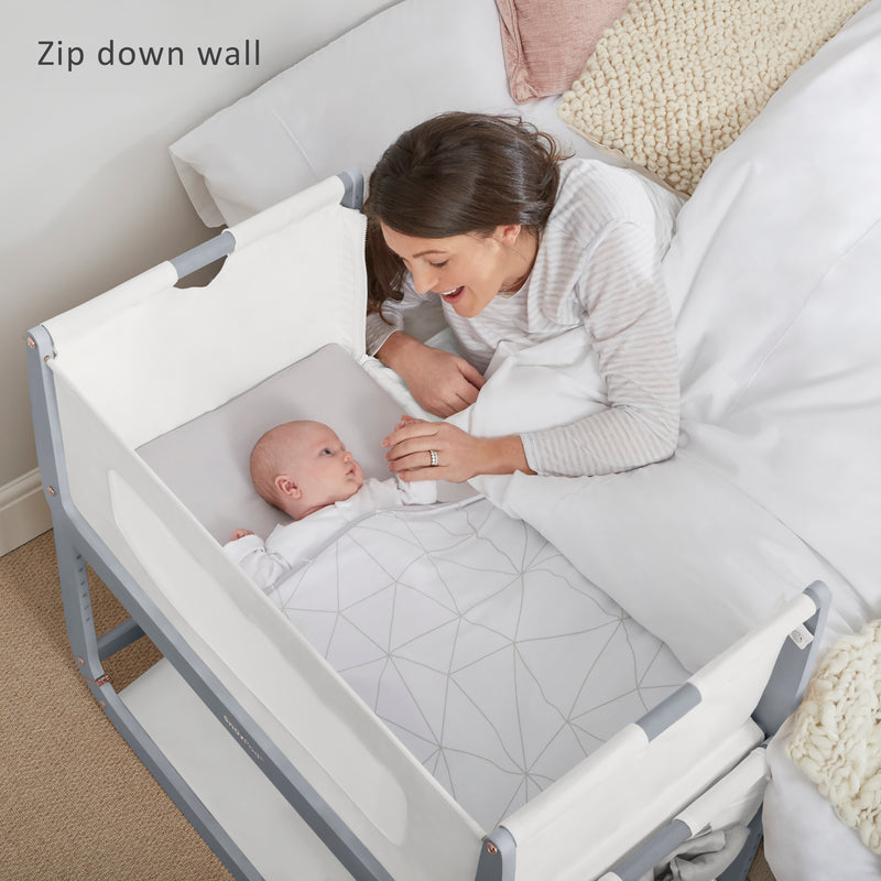 SnuzPod3 Bedside Crib Rose Gold Collection