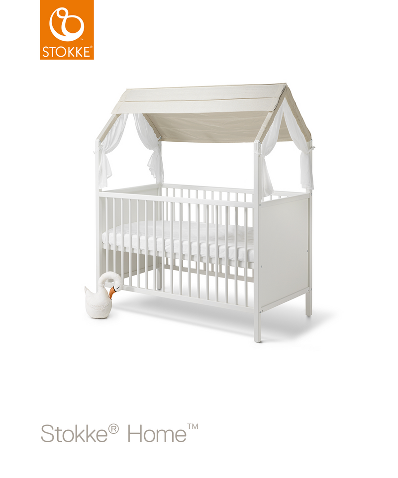 Stokke Home Bed newborn mode with roof and mattress
