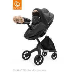 Stokke Stroller Winter Kit in Black Onyx
