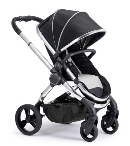 ICANDY PEACH PUSHCHAIR & CARRYCOT, CHROME CHASSIS