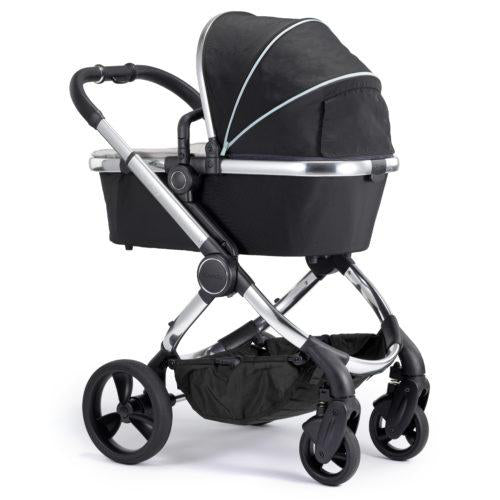 ICANDY PEACH PUSHCHAIR & CARRYCOT, PHANTOM CHASSIS