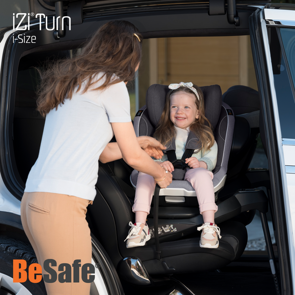 BeSafe iZi Turn i-Size - Fresh Black Cab