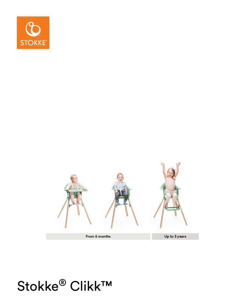 Stokke Clikk growth timeline
