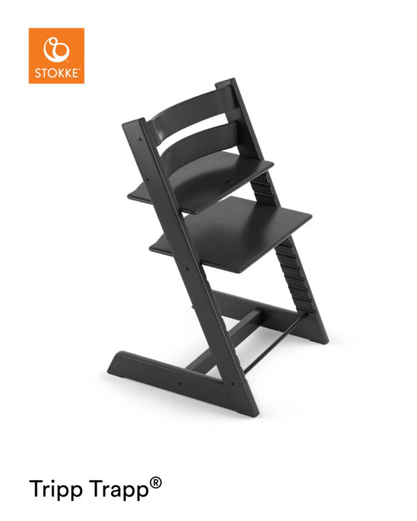 Stokke Tripp Trapp® Chair Black with FREE Munch Essentials giftset