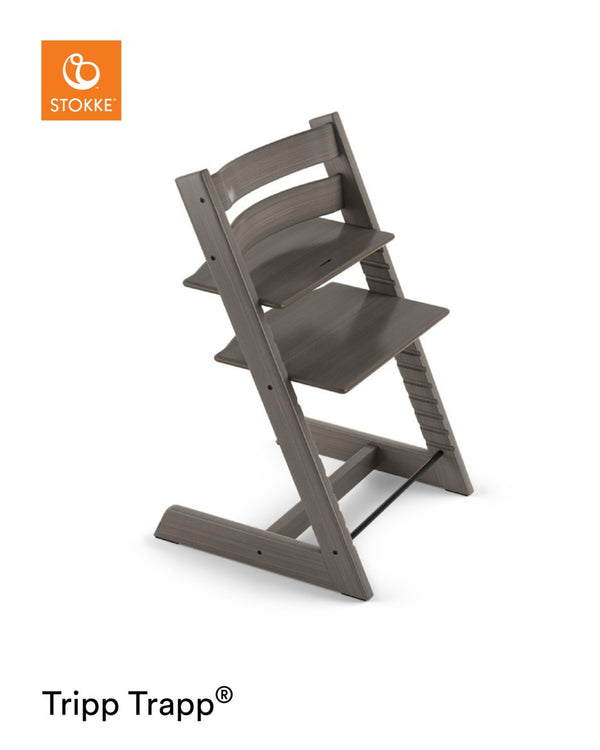 Stokke Tripp Trapp® Chair Hazy Grey with FREE Munch Essentials Giftset
