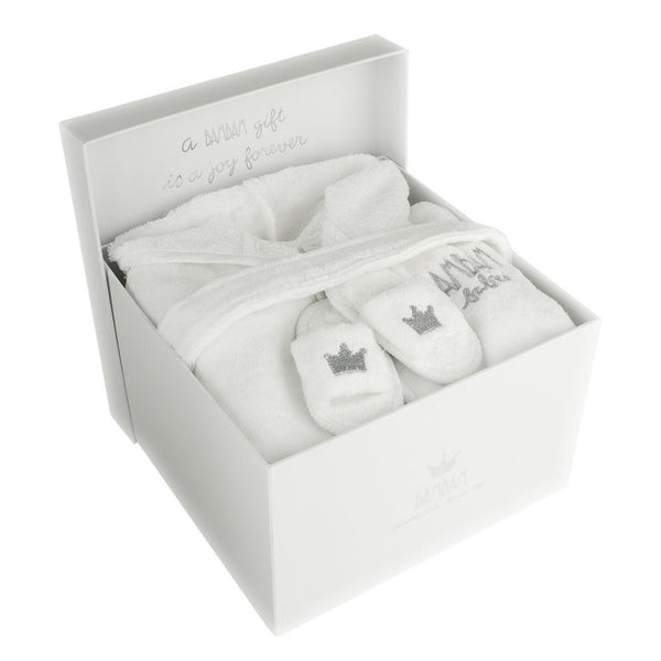 BamBam Bathrobe and Slippers Gift Set