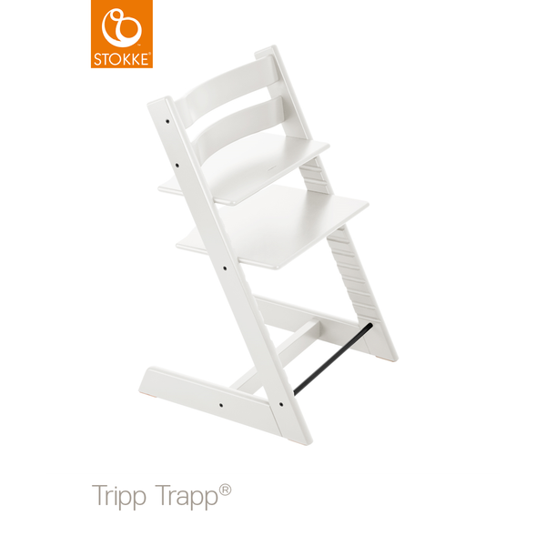 Stokke Tripp Trapp® Chair White with FREE Munch Essentials Giftset
