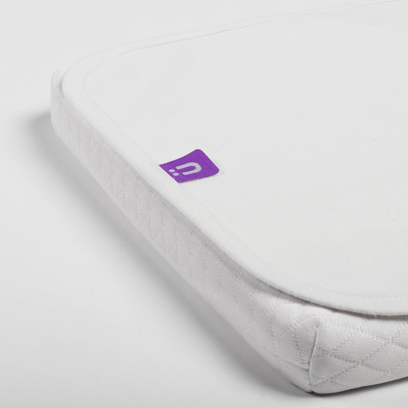 CLOSE UP OF SNUZPOD MATTRESS PROTECTOR
