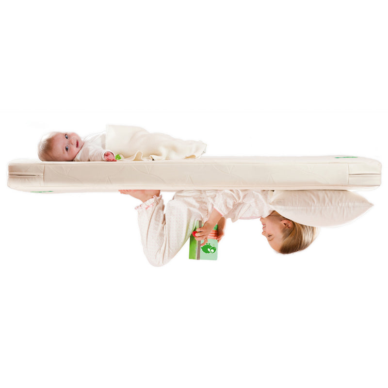 LITTLE GREEN SHEEP MATTRESS TWIST - BOORI COT BED