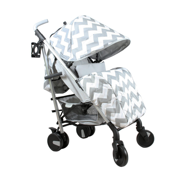 My Babiie Grey Chevron Stroller @ My Crib Rocks
