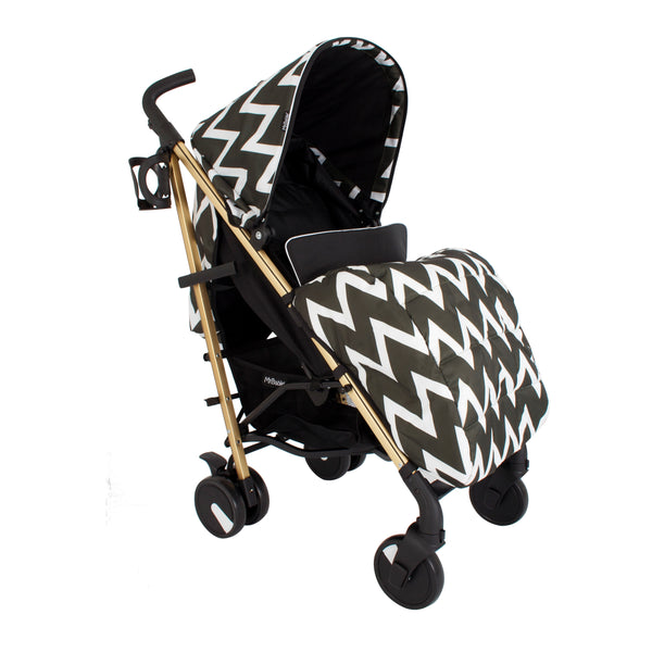My Babiie Gold Edition Chevron Stroller