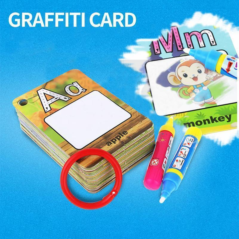 Cadevot™ Children Learning And Drawing Card Set