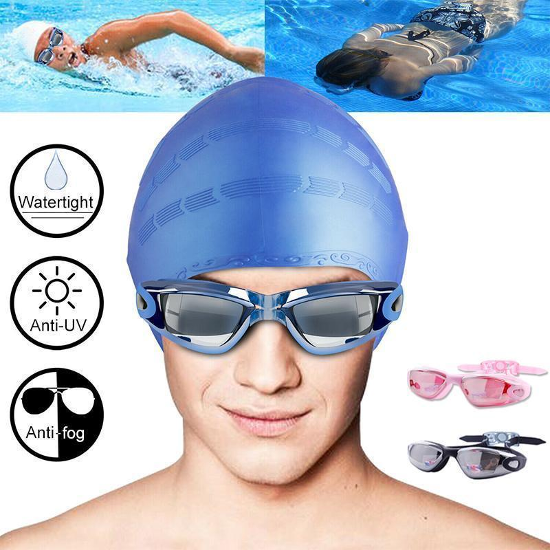 Cadevot™ Swimming Set - Goggles, Cap, Earplug, Nose Clip