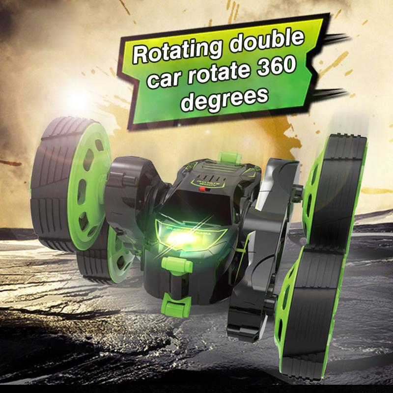 360° Rotating Remote Control Stunt Car Toy