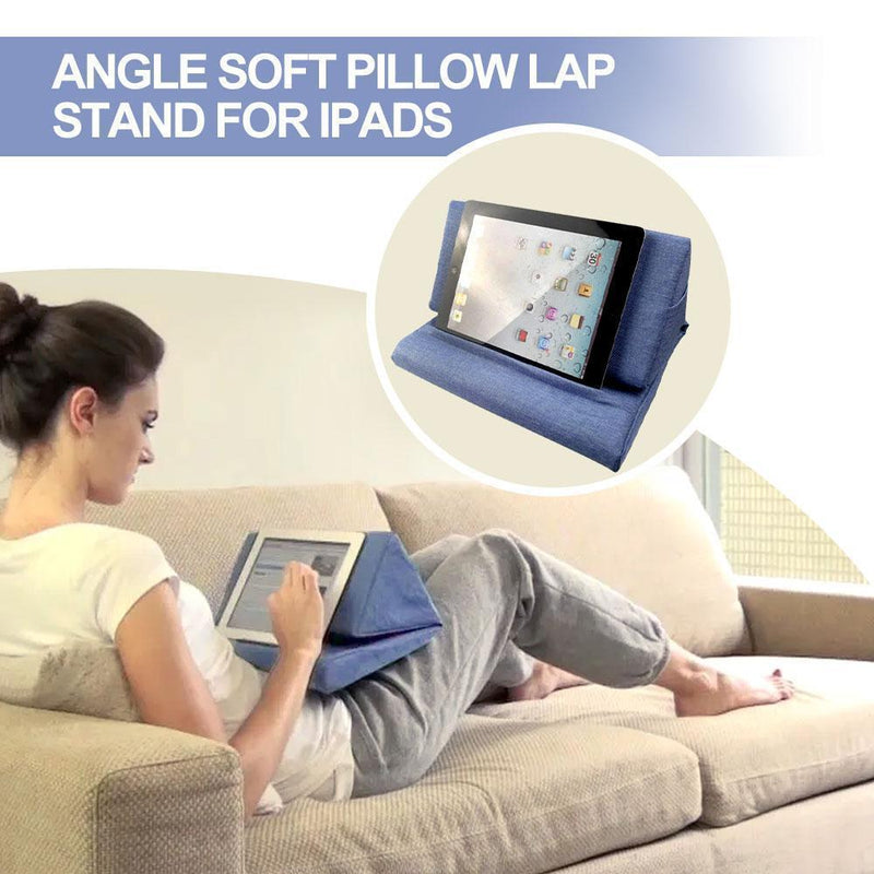 Cadevot™ Multi-Angle Soft Pillow Lap Stand for iPads (Upgrade Version)