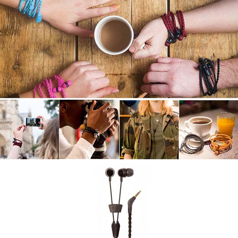 Creative Wristband Earphones Cable