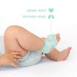 Baby Monitor Owlet Smart Sock 2 - Monitoring of heart rate and oxygen levels