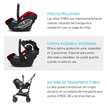 Upload image to gallery viewer, Nest chair (little egg) Britax B-SAFE 35 or Cybex Aton